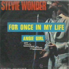 Discos de vinilo: STEVIE WONDER SINGLE SELLO TAMALA MOTOURN . Lote 48813770