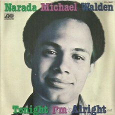 Discos de vinilo: MICHAEL WALDEN SINGLE SELLO ATLANTIC AÑO 1980. Lote 48814272