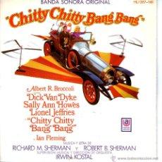 Discos de vinilo: CHITTY CHITTY BANG BANG. Lote 48818283