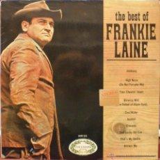 Discos de vinilo: FRANKIE LAINE - THE BEST OF. Lote 48820946