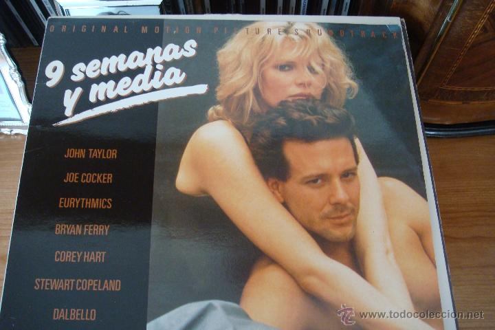 9 SEMANAS Y MEDIA. BANDA SONORA DE LA PELÍCULA. 1986. (Música - Discos - LP Vinilo - Bandas Sonoras y Música de Actores )
