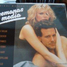 Discos de vinilo: 9 SEMANAS Y MEDIA. BANDA SONORA DE LA PELÍCULA. 1986.. Lote 48821833
