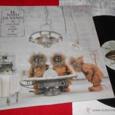 Discos de vinilo: EL NIÑO GUSANO EL ESCARABAJO MAS GRANDE DE EUROPA LP 1998 RCA ORIGINAL SERGIO ALGORA INDIE PLANETAS. Lote 48821889
