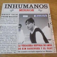 Discos de vinilo: INHUMANOS.MIRROR. Lote 48823966