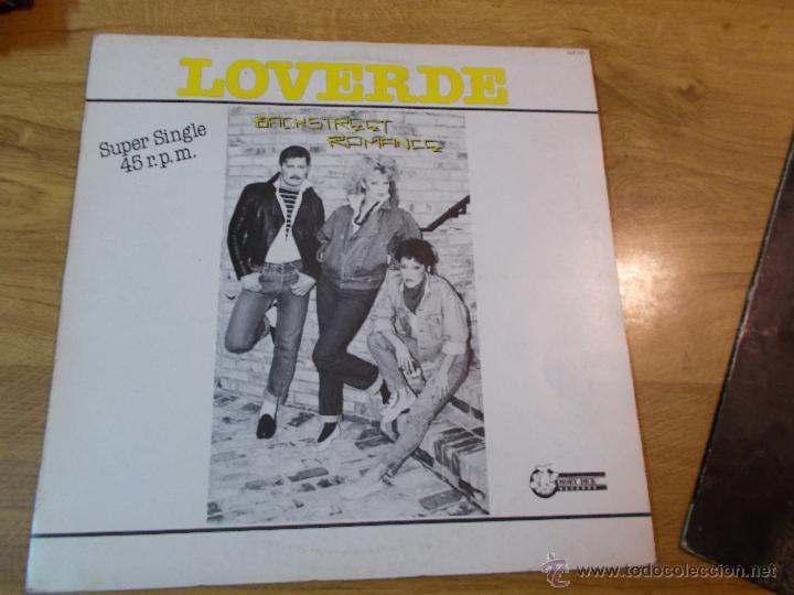 LOVERDE (Música - Discos de Vinilo - Maxi Singles - Pop - Rock - New Wave Extranjero de los 80)