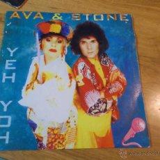 Discos de vinilo: EVA & STONE. YEH YOH. Lote 48825451
