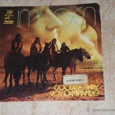 Discos de vinilo: IMAGEN -GOODBYE BABY/VOY CAMINANDO / -SINGLE EKIPO 1972 -RECOPILADO EN SPANISH TRIP VOL I. Lote 48825571