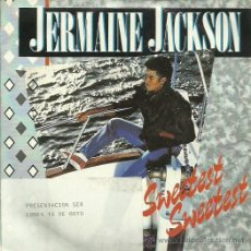 Discos de vinilo: JERMAINE JACKSON SINGLE SELLO ARISTO AÑO 1984. Lote 48826822