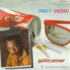 Discos de vinilo: JULIUS BROWS SINGLE SELLO STOP AÑO 1983. Lote 48826906