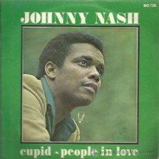 Discos de vinilo: JOHNNY NASH SINGLE SELLO COLUMBIA PROMOSIONAL . Lote 48826941