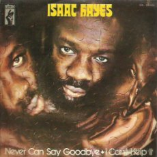 Discos de vinilo: ISSAC HAYES SINGLE SELLO STOX AÑO 1971. Lote 48826997