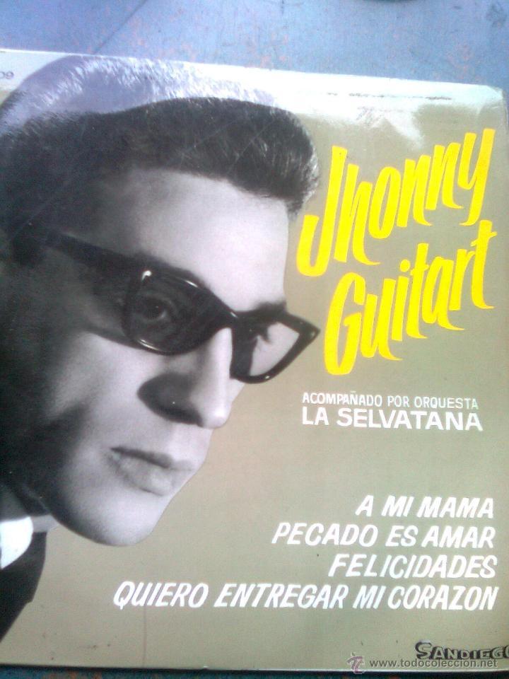 JHONNY GUITART - A MI MAMÁ + 3 (SANDIEGO, 1966) (Música - Discos de Vinilo - EPs - Solistas Españoles de los 50 y 60)