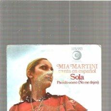 Discos de vinilo: MIA MARTIN SOLA. Lote 48832262