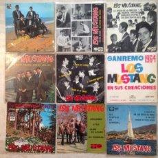 Discos de vinilo: LOTE 9 EP LOS MUSTANG - EN BUEN ESTADO. Lote 48837967