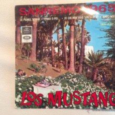 Discos de vinilo: EP LOS MUSTANG - 1965. Lote 48838145