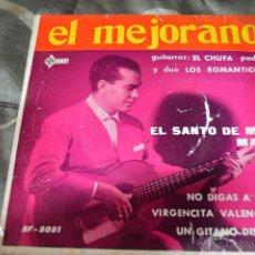 Discos de vinilo: EL MEJORANO * VINILO 1963 * 4 CANCIONES. Lote 48840420