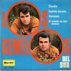 Discos de vinilo: LOS GEMELOS DEL SUR - CLAUDIO . EP.. Lote 48841758