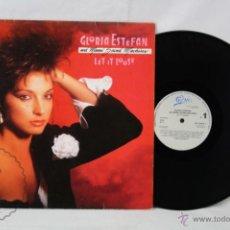 Discos de vinilo: DISCO LP VINILO - GLORIA STEFAN Y MSM. LET IT LOOSE - ED. CBS / EPIC - ESPAÑA, AÑO 1987. Lote 48845132