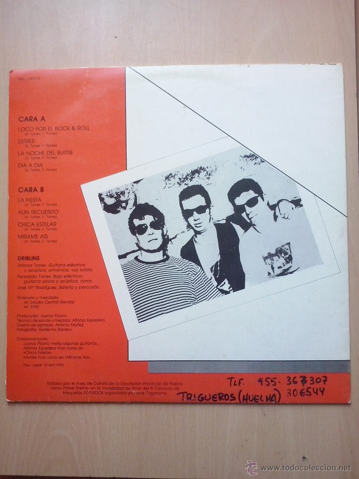 Discos de vinilo: driblins - rock & roll - lp la jungla 1992 - Foto 2 - 48846365