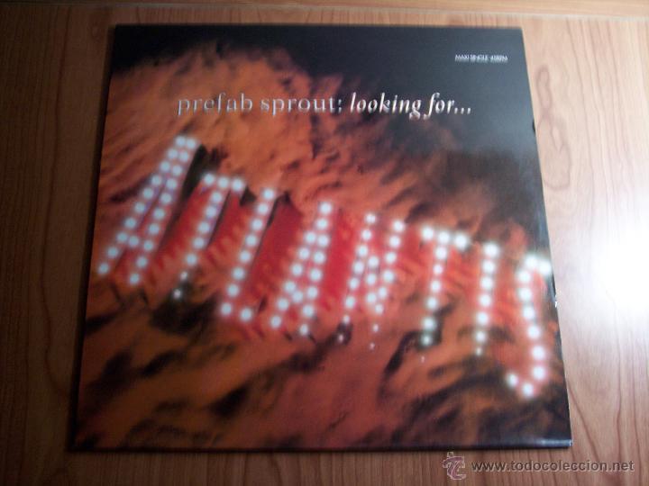 MAXI SINGLE - PREFAB SPROUT (LOOKING FOR ATLANTIS) CBS-1990 (Música - Discos de Vinilo - Maxi Singles - Pop - Rock Internacional de los 90 a la actualidad)