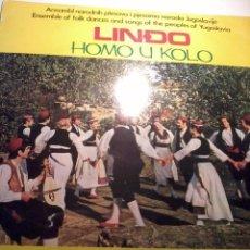 Discos de vinilo: DISCO DE VINILO. LINDO HOMO U KOLO. C5V. Lote 48854383