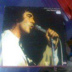 Discos de vinilo: JOAN MANUEL SERRAT - ...PARA PIEL DE MANZANA. Lote 48856878