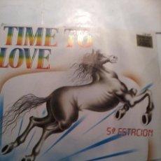 Discos de vinilo: . 5ª ESTACIÓN. TIME TO LOVE. PIRAMIDES.MB2. Lote 48857751