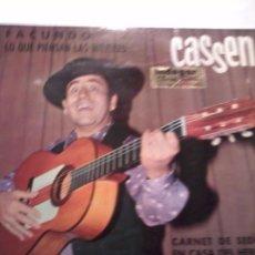 Discos de vinilo: CASSEN. FACUNDO LO QUE PIENSAN LAS MUJERES. MB3. Lote 48858225