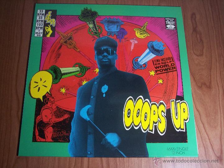 OOOPS UP (BMG-1990) (Música - Discos de Vinilo - Maxi Singles - Pop - Rock Internacional de los 90 a la actualidad)