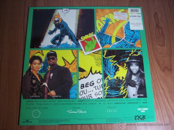 Discos de vinilo: OOOPS UP (BMG-1990) - Foto 2 - 48863246