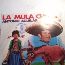 Discos de vinilo: ANTONIO AGUILAR. LA MULA CHULA. MI TRIGUEÑITA.MB2. Lote 48865191
