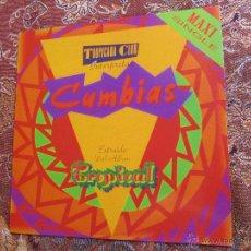 Discos de vinilo: TROPICANA CLUB- MAXI-SINGLE DE VINILO- CUMBIAS EXTRAIDO DEL ALBUM TROPICAL-14 TEMAS- DEL 90.NUEVO. Lote 48865277