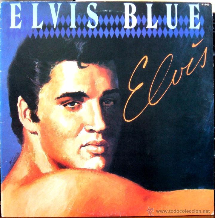 ELVIS PRESLEY: ELVIS BLUE (RPL-8258), RCA JAPAN PRESSING 1984 / (Música - Discos - LP Vinilo - Pop - Rock Extranjero de los 50 y 60)