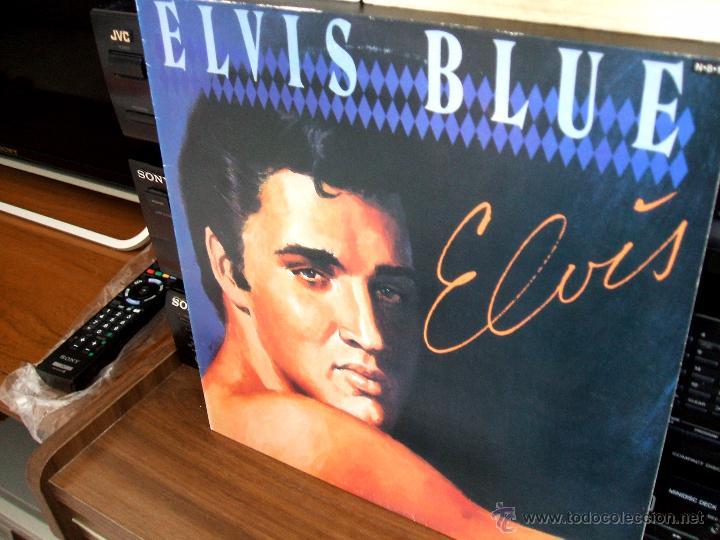 Discos de vinilo: ELVIS PRESLEY: ELVIS BLUE (RPL-8258), RCA JAPAN PRESSING 1984 / - Foto 6 - 48866262