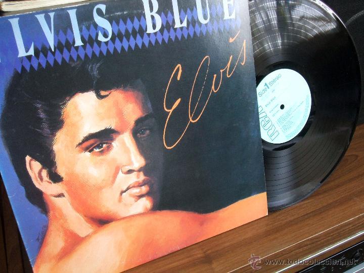 Discos de vinilo: ELVIS PRESLEY: ELVIS BLUE (RPL-8258), RCA JAPAN PRESSING 1984 / - Foto 7 - 48866262