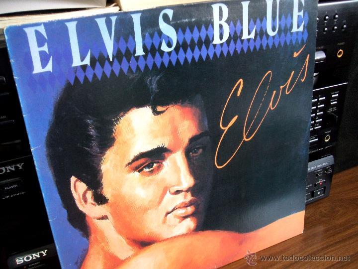 Discos de vinilo: ELVIS PRESLEY: ELVIS BLUE (RPL-8258), RCA JAPAN PRESSING 1984 / - Foto 9 - 48866262