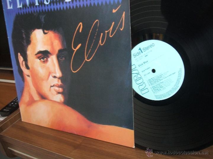 Discos de vinilo: ELVIS PRESLEY: ELVIS BLUE (RPL-8258), RCA JAPAN PRESSING 1984 / - Foto 11 - 48866262