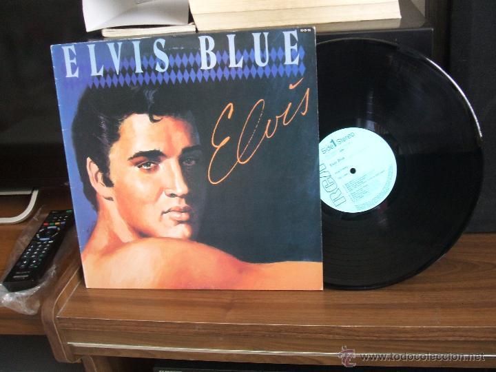 Discos de vinilo: ELVIS PRESLEY: ELVIS BLUE (RPL-8258), RCA JAPAN PRESSING 1984 / - Foto 12 - 48866262