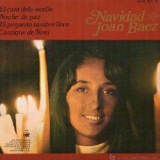 Discos de vinilo: JOAN BAEZ, EP, EL CANT DELS OCELLS + 3, AÑO 1968. Lote 48866326