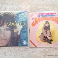 Discos de vinilo: LOTE 2 SINGLES MARISOL - AÑOS 69 Y 70. Lote 48868304