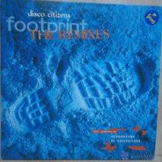 Discos de vinilo: DISCO CITIZENS - FOO TPRINT REMIXES KLUBBHEADS DJ QUICKSILVER 1997. Lote 48868818