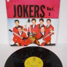 Dischi in vinile: LOS JOKERS - LOS JOKERS VOL 1 - LP - EL COCODRILO 1989 SPAIN - N MINT. Lote 48869953