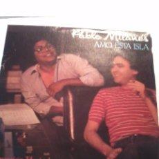 Discos de vinilo: PABLO MILANÉS. AMO ESTA ISLA. ACTO DE FE.MB2. Lote 48870921
