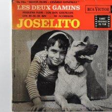 Discos de vinilo: JOSELITO - BANDA SONORA DEL FILM - LES DEUX GAMINS - PEQUEÑA FLOR - EP FRANCES.. Lote 189210271