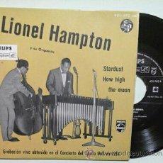 Discos de vinilo: LIONEL HAMPTON -EP- STARDUST + 3 OR SPAIN 50,S. Lote 48872853
