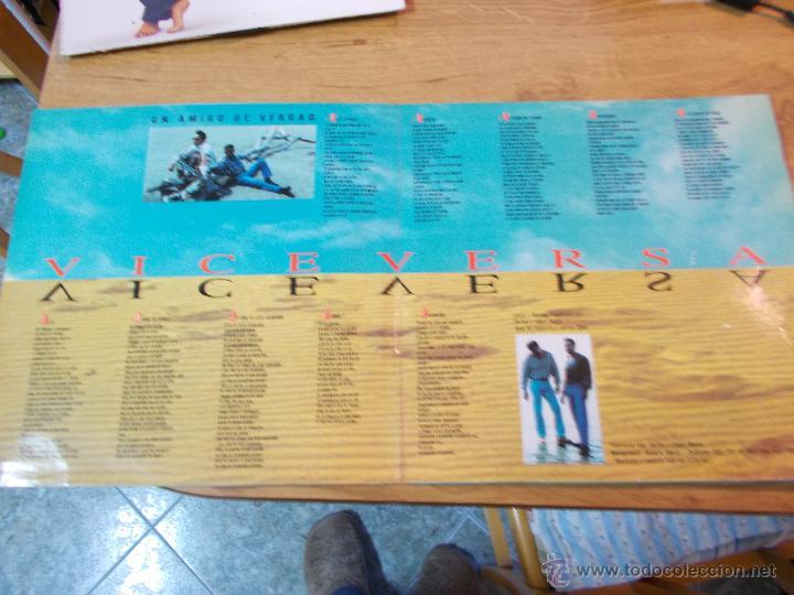 Discos de vinilo: VICEVERSA.UN AMIGO DE VERDAD. NO CONTIENE POSTER - Foto 2 - 48872990