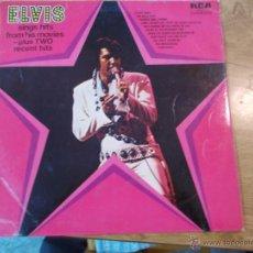 Discos de vinilo: ELVIS. SINGS HITS FROM HIS MOVIES-PLUS TWO RECENT HITS EDICION INGLESA 1972. Lote 48873370