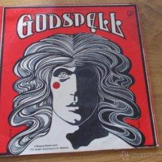 Discos de vinilo: GODSPELL. EDICION INGLESA 1971. Lote 48874267