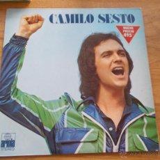 Discos de vinilo: CAMILO SESTO. ALGO MÁS. Lote 48874569