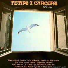 Discos de vinilo: TEMPS I CANÇONS 1976-1981 ARIOLA -MÚSICA CATALANA SERRAT, PERE TAPIES, LLACH, M. MR BONET, TRINCA. Lote 43502079